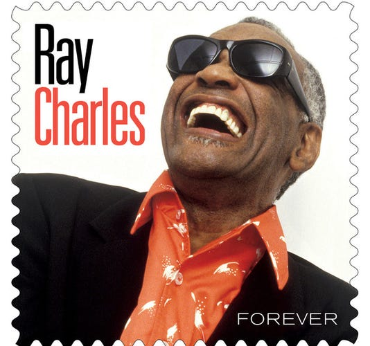 Ray Charles 2013 'Forever' postage stamp