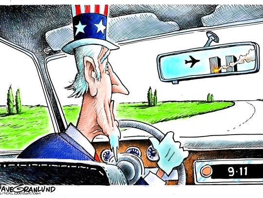 Dave Granlund, Politicalcartoons.com, drew this editorial