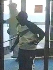 Authorities said in 2014 that this image showed one of four men involved in a bank robbery on Odell Avenue in Yonkers in October 2013. On Monday, they made the first arrest in the case.