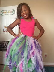Timea Batts, 11, loved colors and enjoyed making tutus,