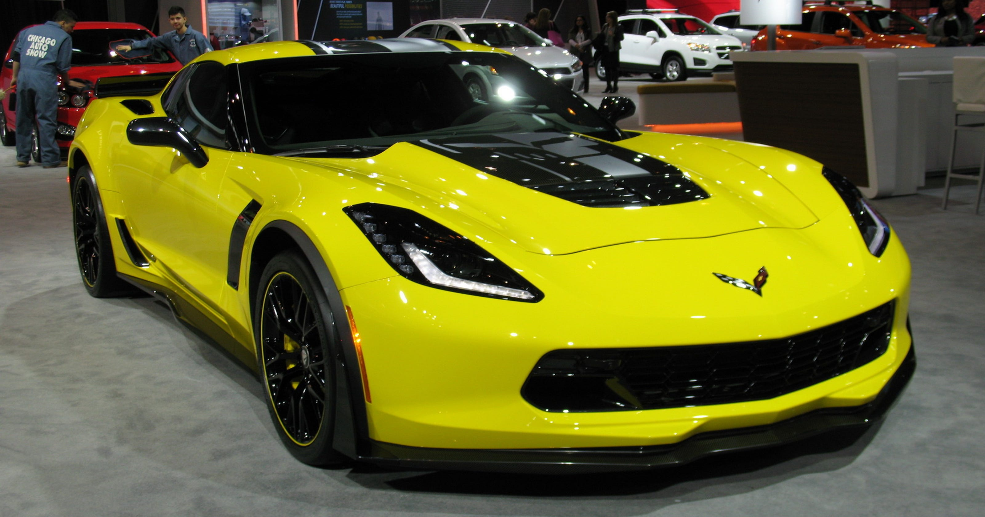 2016 Chevrolet Corvette Z06 fast & furious