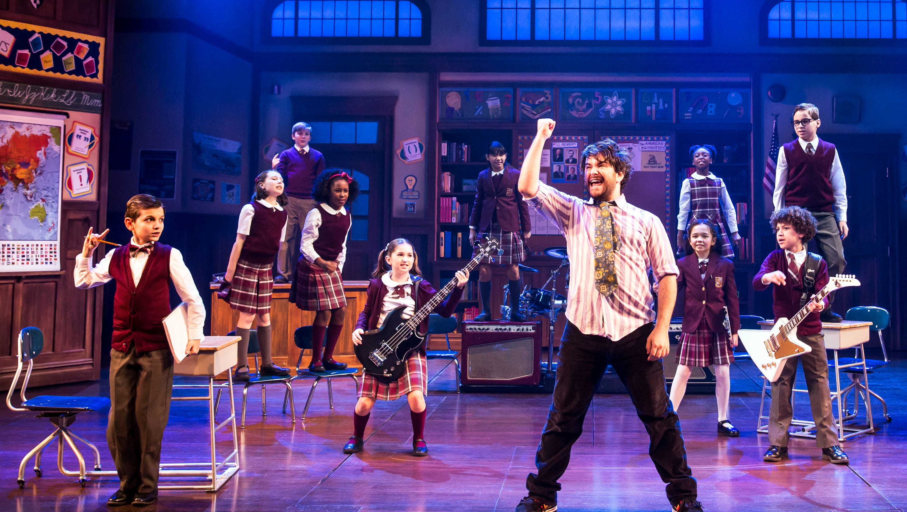 39 school of rock 39 rolls over to broadway for The broadway