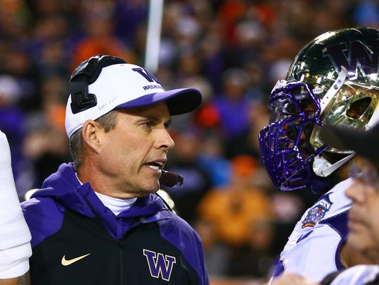 NCAA Football: Cactus Bowl-Washington vs Oklahoma State
