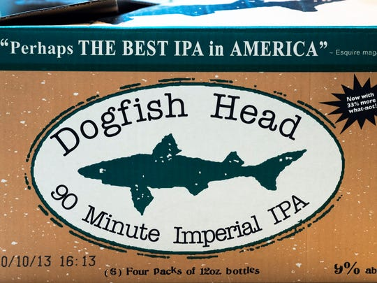 Dogfish Head's 90 Minute Imperial IPA.