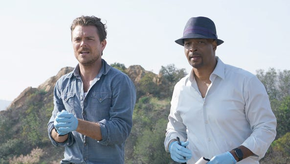Clayne Crawford and Damon Wayans in 'Lethal Weapon,'