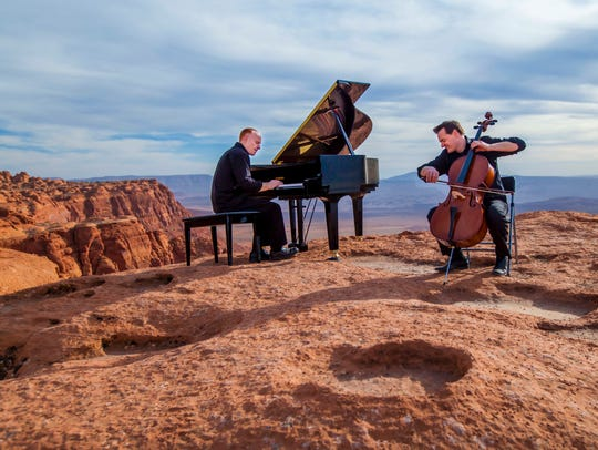 The Piano Guys bring their music to the Mayo Performing Arts Center in Morristown on Thursday, August 9, 2018.