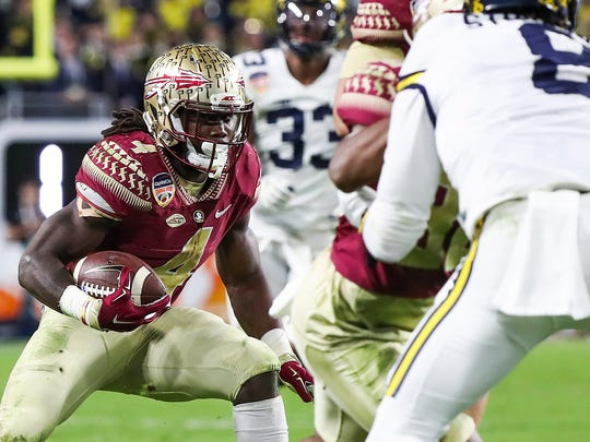 Dynamic Dalvin Cook of Florida State figures to be a first-round pick.