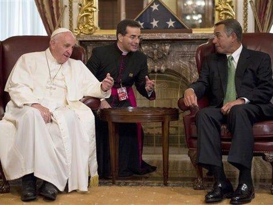 Pope Francis, John Boehner