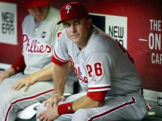 Chase Utley's days with the Philadelphia Phillies may be over.