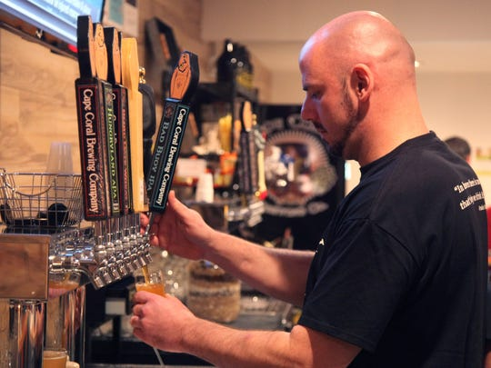 The Cape Coral Brewing Co. is Cape Coral's first brewery serving many different craft beers.