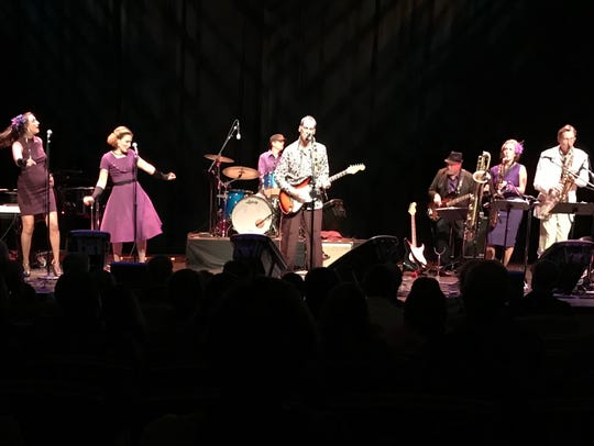 Dave Keller and his Soul Revue play New Year's Eve