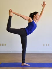 Kate Nicodemus is a yoga instructor at FItness Plus Old Square Road in Jackson.
