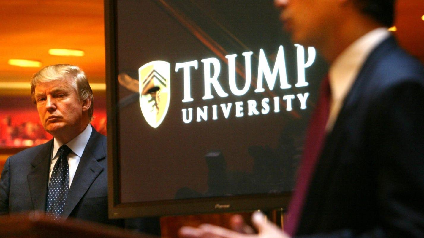 Appeals court upholds $25M Trump University settlement