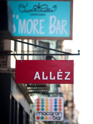 Thursday, Feb. 8, 2018: Main Street in Over-the-Rhine has seen a lot of new businesses open recently.
