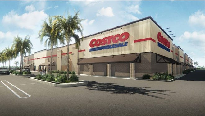 Costco wants to build a store on the southwest corner of Martin Highway and High Meadow Avenue in Palm City.
