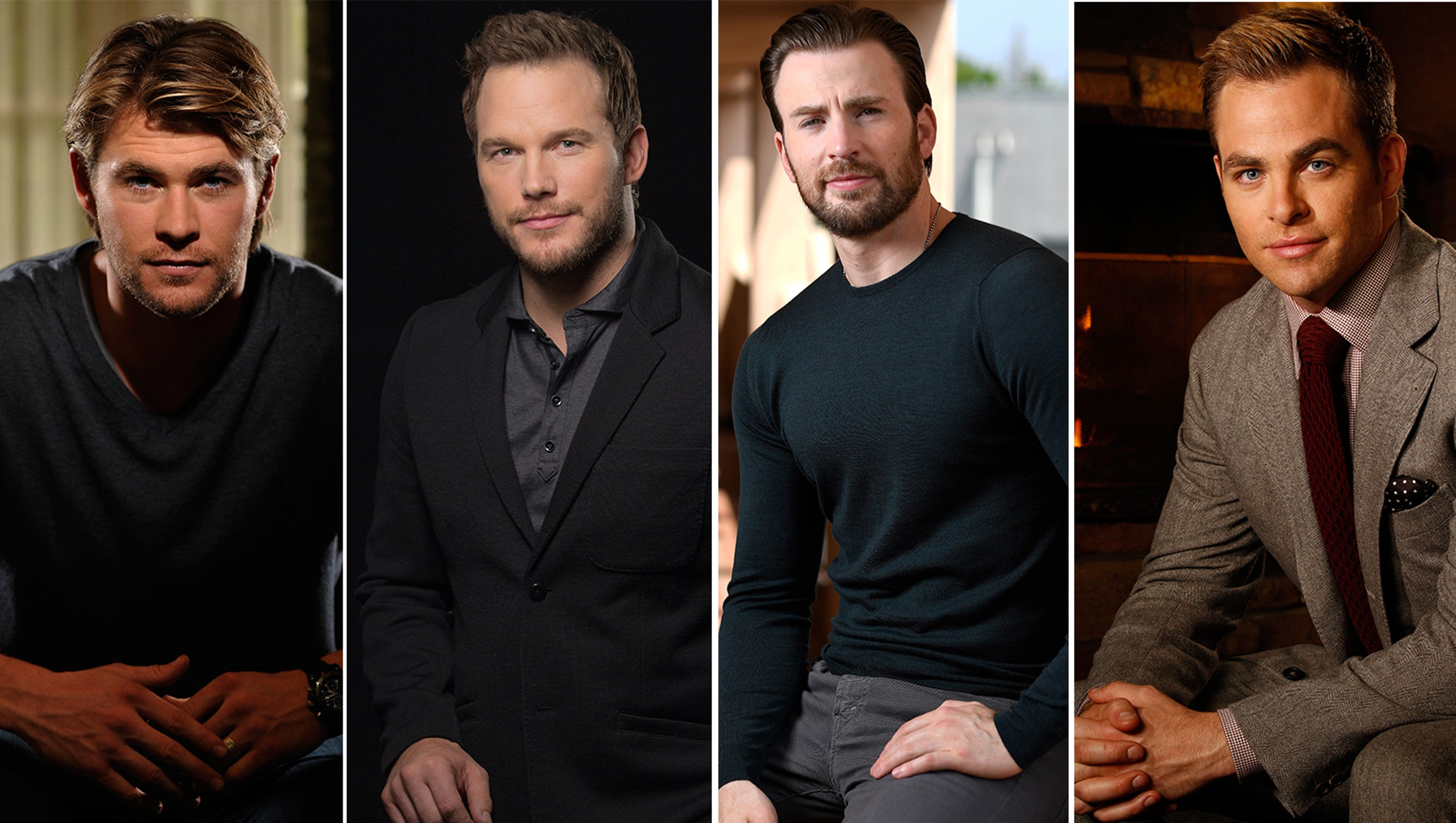 Battle Of The Chrises 2017 Edition A Breakdown Of Leading Men Named
