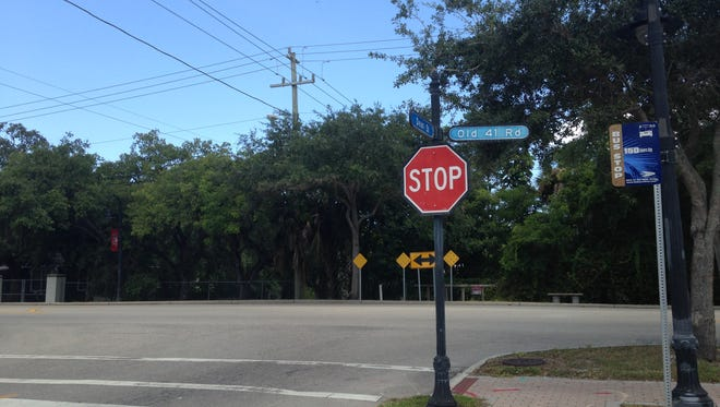 The Bonita Springs City Council supports building a roundabout at Old 41 Road and Dean Street to calm traffic and serve as an entrance to the downtown. The City Council talked about moving the historic Dixie Moon building at the southeastern corner of the intersection.