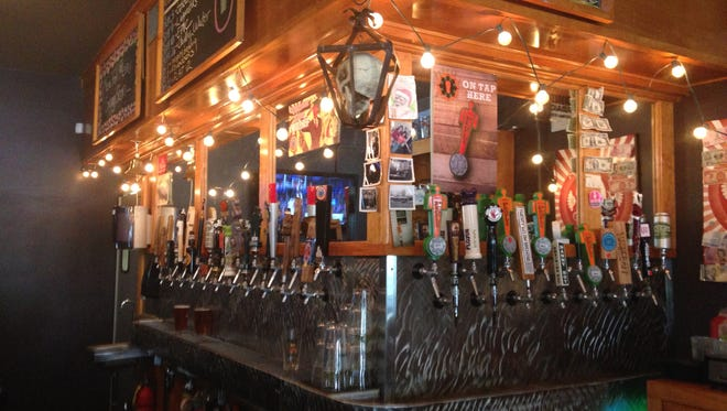 Stop 3: Bar, brewery and restaurant, Twenty Tap, brews as Twenty Below. They are located on College Ave. in Indianapolis.
