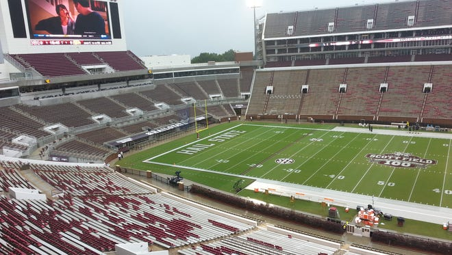 Mississippi State reopened Davis Wade Stadium with a blowout win and a record crowd.
