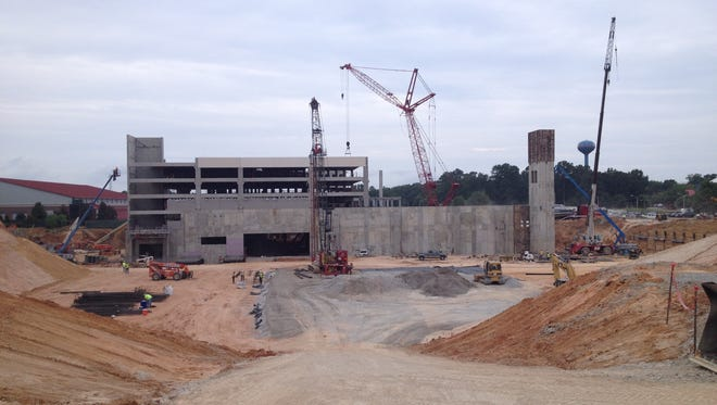 Ole Miss' new basketball arena is slated to open December 2015.