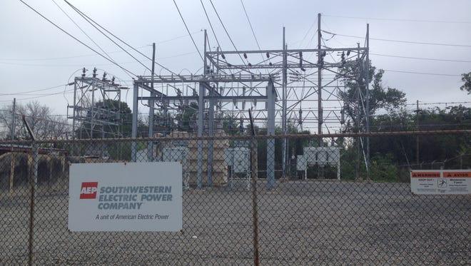 A SWEPCO substation.