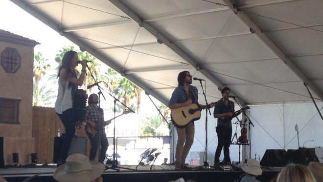 The Railers at Stagecoach 2014