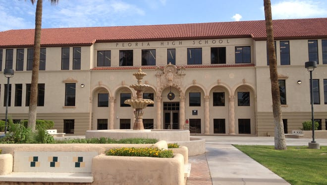 The Peoria Unified School District recently renovated its 92-year-old Old Main building, which is located on the Peoria High School campus and was the district's first school.