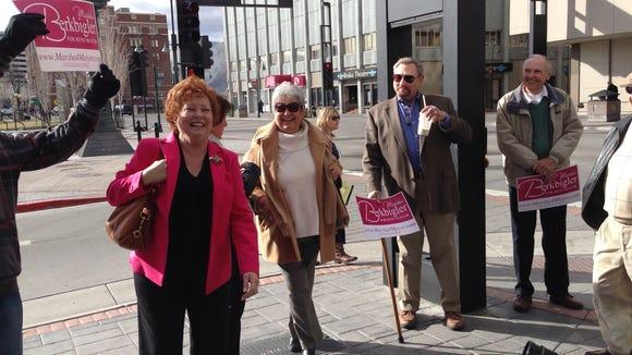 Reno mayoral candidate Marsha Berkbigler.