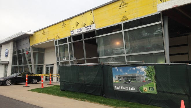 An expansion at Graham Auto is part of $118.5 million in nonresidential additions and remodeling projects permitted this year.