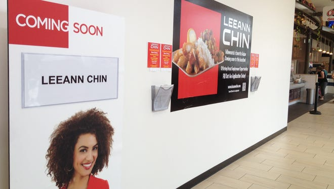 Leann Chin plans to open in late June at The Empire Mall.