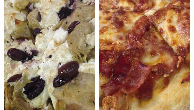 Pizza at Breadico.
