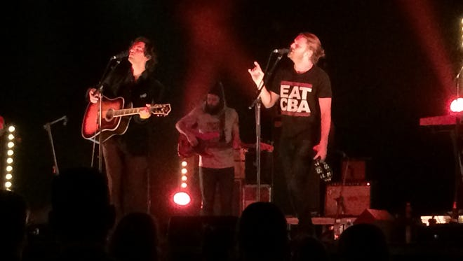 The Head and the Heart performed at the Meyer Theatre in Green Bay Sunday night.