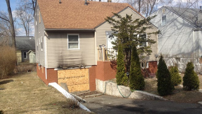 A home in Greenburgh caught fire early Saturday morning on Prospect Avenue.