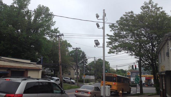 Red light cameras in Yonkers.
