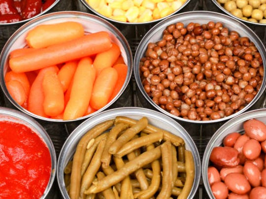 Fresh foods, once harvested, have a finite shelf life. Plus, once fruit or vegetables are picked, their vitamin and mineral content decreases each day that they are not consumed. Many canned foods are picked and processed on the same day, helping to retain nutrients at their peak and lock them in for many months.