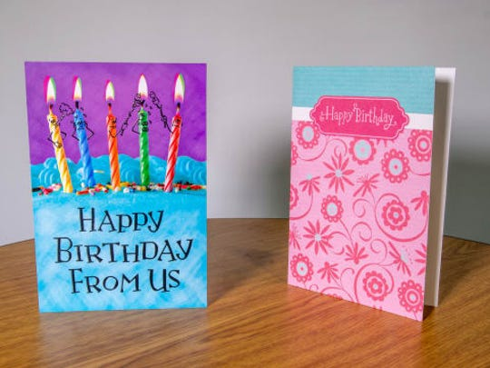 When it comes to greeting cards, it's the thought that really counts.