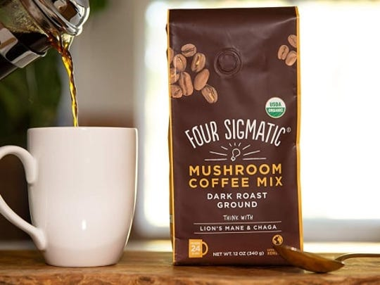 Four Sigmatic's mushroom coffee mix is the best-selling instant coffee sold on Amazon.