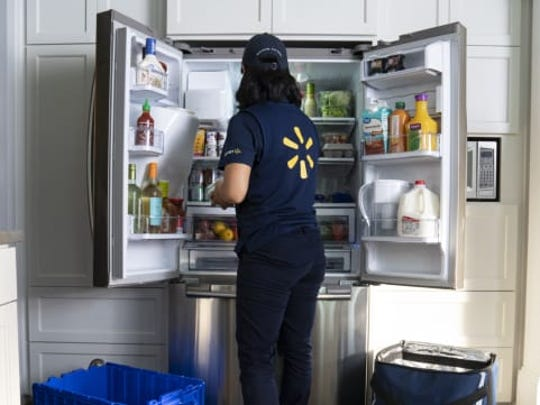 Is it worth it to have stores like Walmart deliver your groceries—and even stock your fridge?