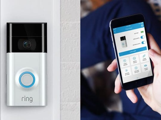 Some doorbell-camera devices can stream real-time video to a user's smartphone, tablet or desktop, allowing homeowners to see and talk to people on their doorsteps.