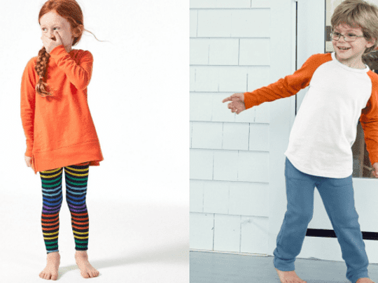 Vamp up your kids' wardrobes for online school.