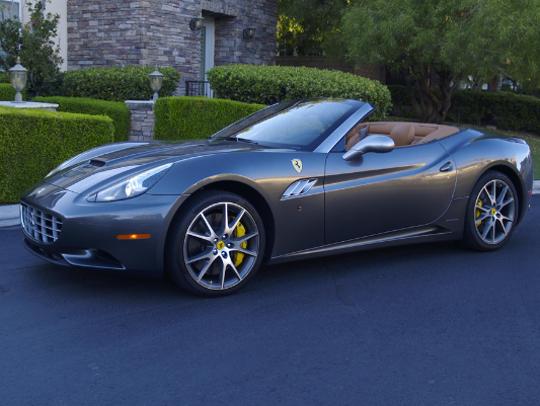 2012 Ferrari California.