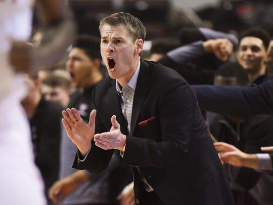 Missouri State coach Paul Lusk said Friday's quarterfinal