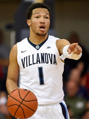 Villanova guard Jalen Brunson returns with a much larger role running the point for the Wildcats.