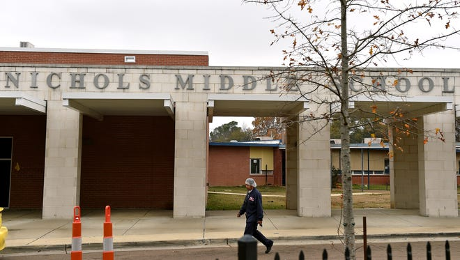 Canton School District, where Nichols Middle School is located, is one of many districts across the state that received failing ratings from the Mississippi Department of Education.