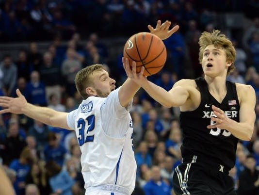 NCAA Basketball: Xavier at Creighton