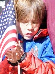 Lars Alfred, a third grader at Bell Elementary School