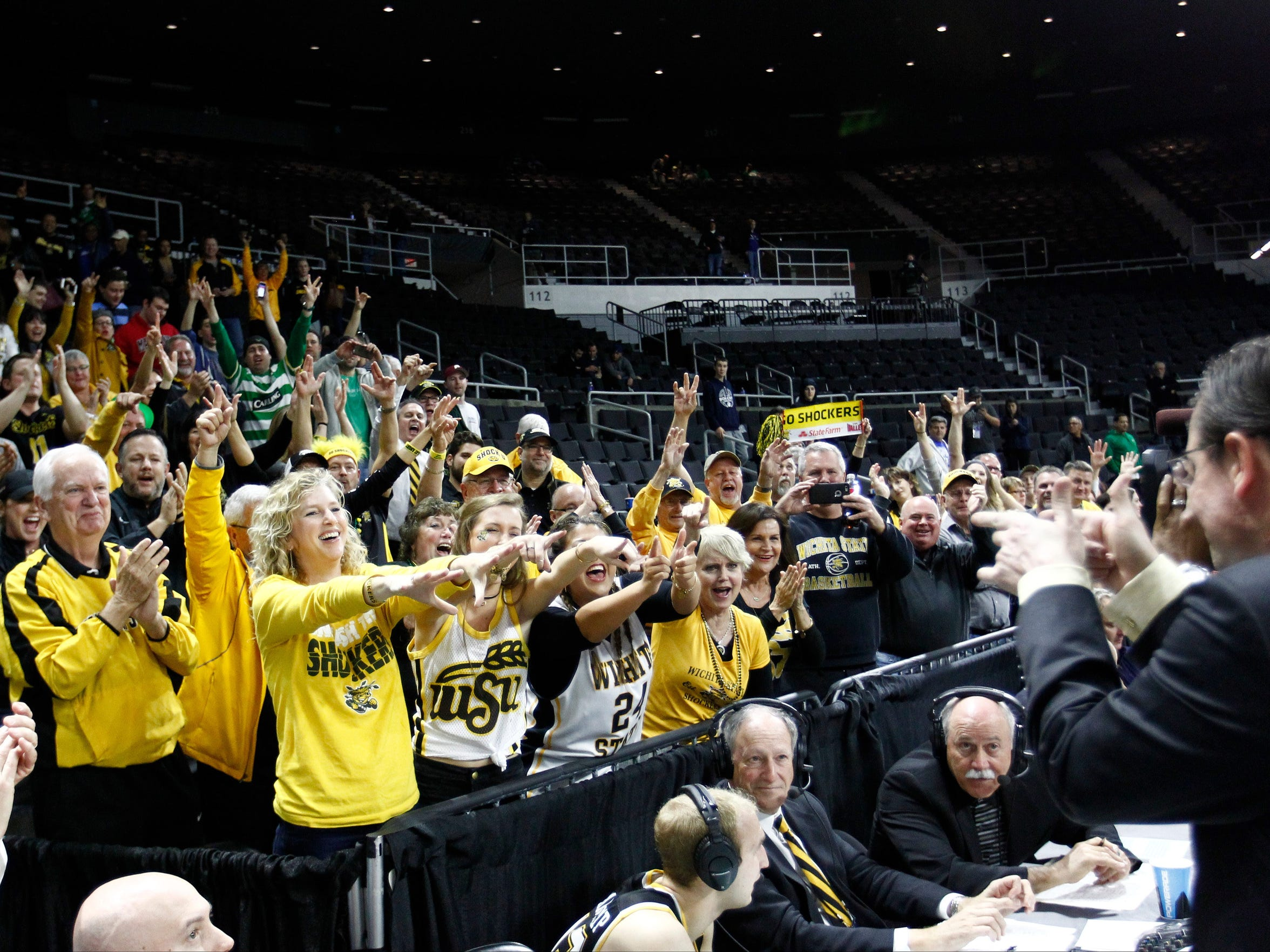 The marriage of Gregg Marshall, right, and Wichita