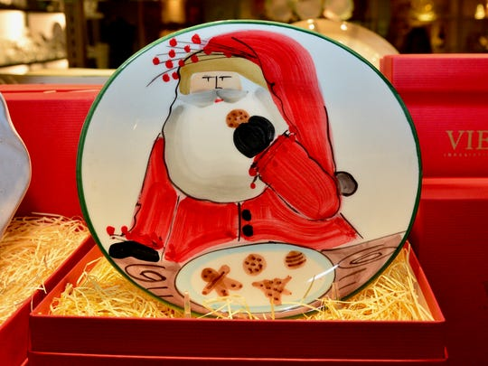 No house is complete without a dish to store cookies for Santa Claus, and The Containery has some classics Santa can't possibly miss.