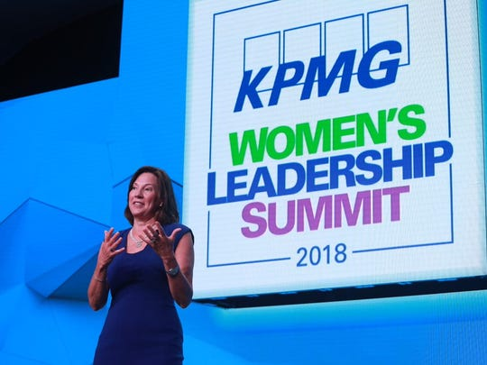 Lynne Doughtie, U.S. Chairman and CEO of KPMG kicks