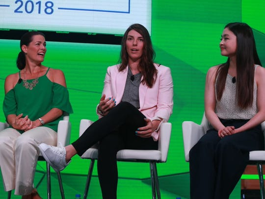 Olympians Nancy Kerrigan, Hilary Knight and Maia Shibutani